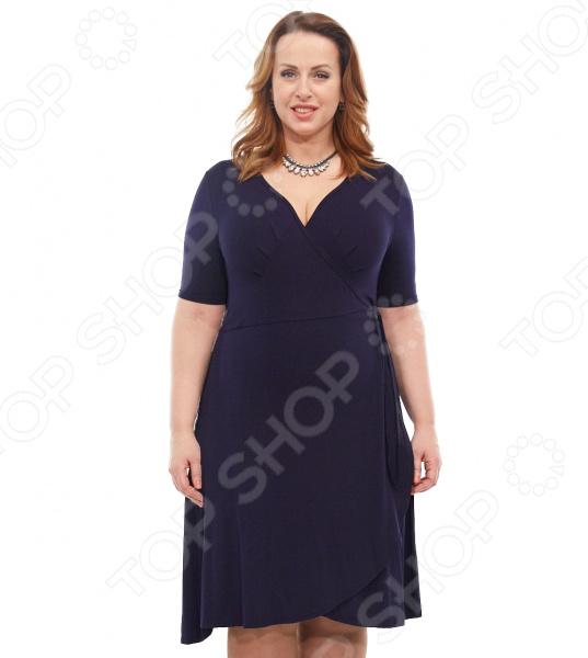 Платье Laura Amatti «Легкое мгновение». Цвет: синий