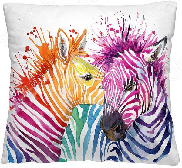 Подушка декоративная Волшебная ночь «Зебры»