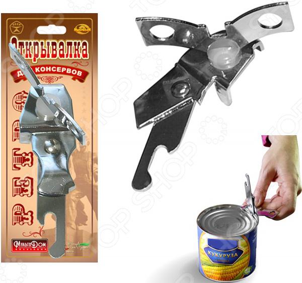 Открывалка для консервов Мультидом «Ретро» AN57-64 ручка съемная универсальная мультидом ретро an57 6