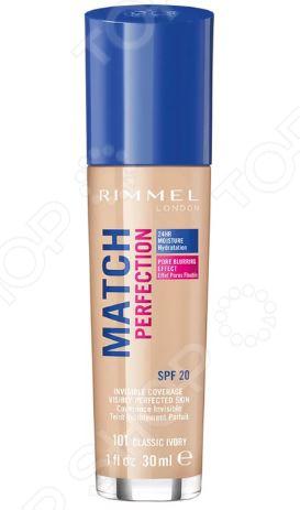 Тональный крем Rimmel Match Perfection