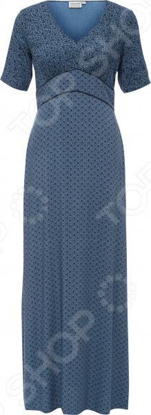 Платье Finn Flare S16-11075. Цвет: темно-синий