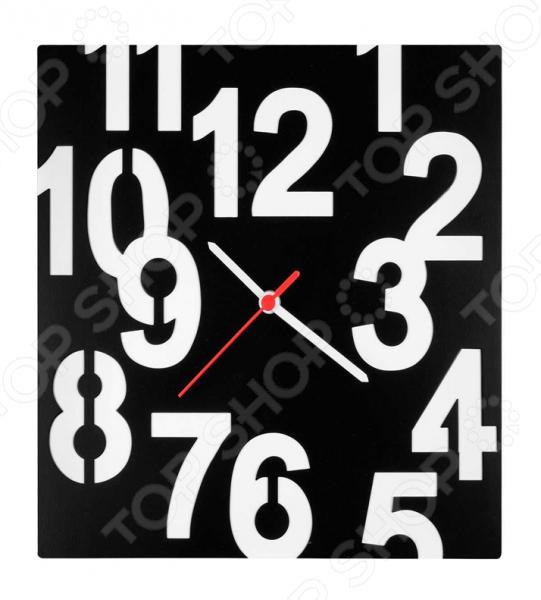 Часы настенные Miolla «Квадрат с цифрами» часы настенные miolla попугай