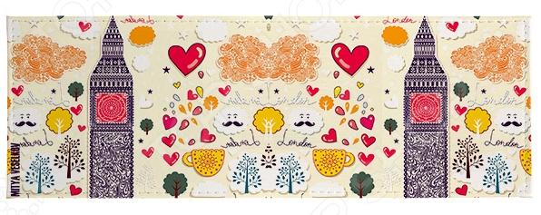 Обложка для студенческого билета Mitya Veselkov «Влюбленный Лондон» обложка для студенческого билета mitya veselkov ежик ночью