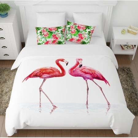 Купить Комплект постельного белья Сирень «Фламинго»