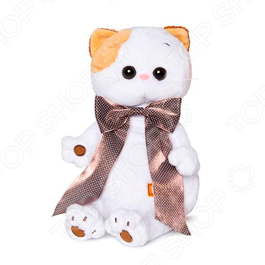 Zakazat.ru: Мягкая игрушка BUDI BASA «Ли-Ли с атласным коричневым бантом»