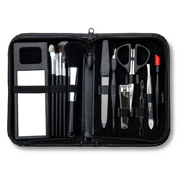 фото Профессиональный набор для маникюра и макияжа WELLNEO 13 в 1