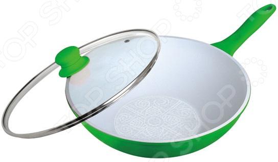 Сковорода-вок Frank Moller FM-818 marlies moller specialist сухой шампунь придающий объем с шелком 4г