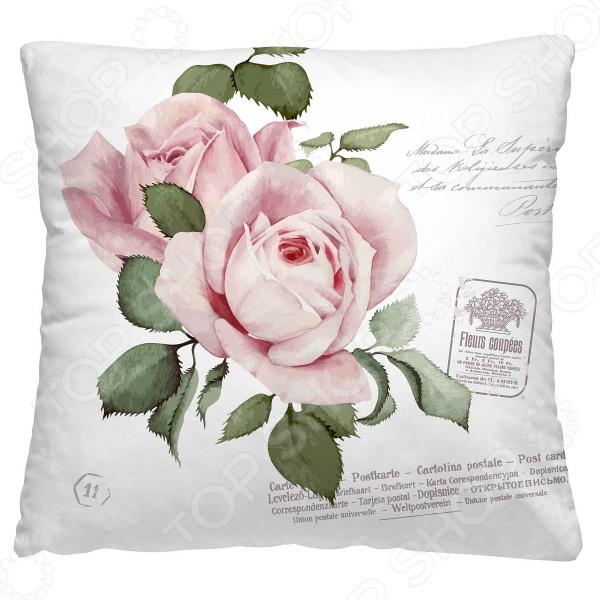 Подушка декоративная Волшебная ночь «Розовый бутон»