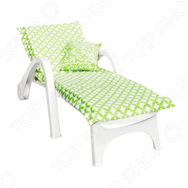 фото Подушка на шезлонг Kauffort Green Round, Декоративные подушки