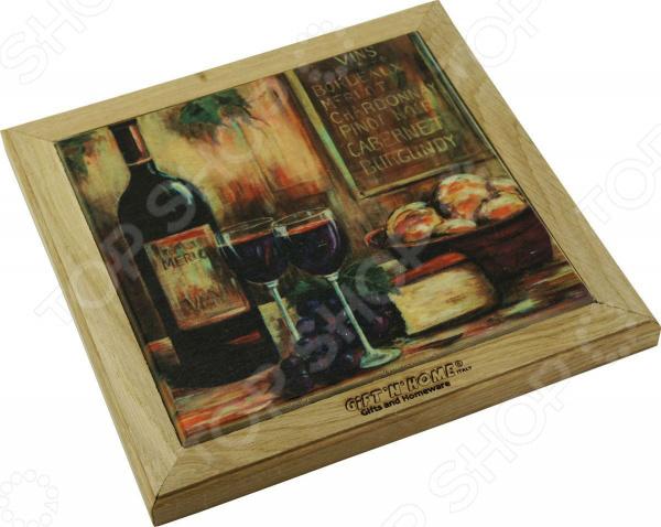 Подставка под горячее Gift'n'home «Вино и сыр»