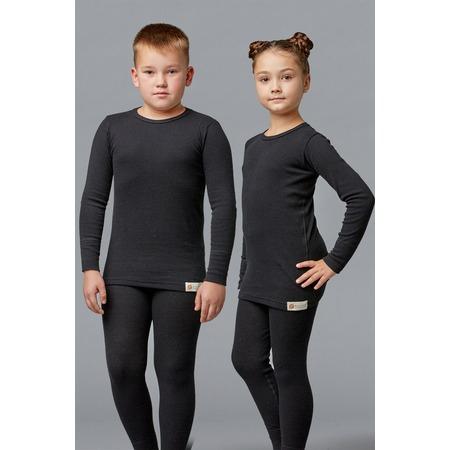 Купить Лонгслив детский «Ангора» 1723331. Цвет: черный