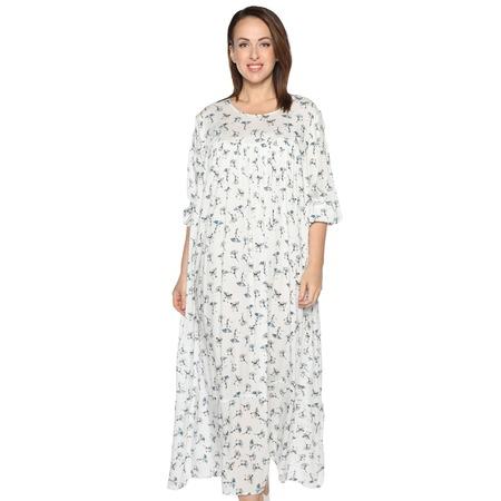Купить Платье Полное счастье «Непредсказуемая красота». Цвет: белый