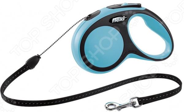 Поводок-рулетка Flexi New Comfort S. Тип поводка: трос