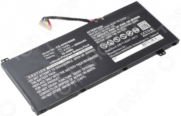 Аккумулятор для ноутбука Pitatel BT-014 для ноутбуков Acer VN7-571/571G/591/591G/791
