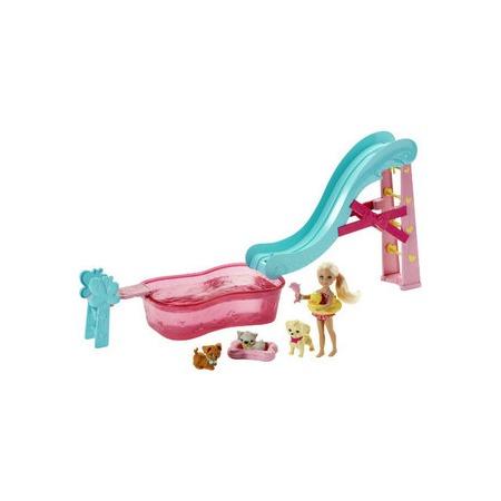 Купить Кукла с аксессуарами Mattel Челси и бассейн с питомцами