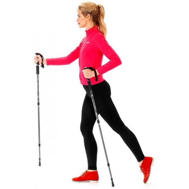 фото Палки для скандинавской ходьбы «Будь в форме»