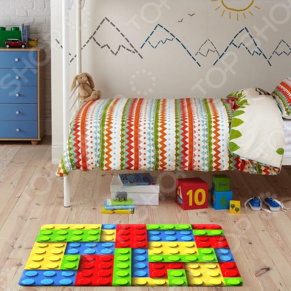 Ковер ТамиТекс Lego 50х70 см