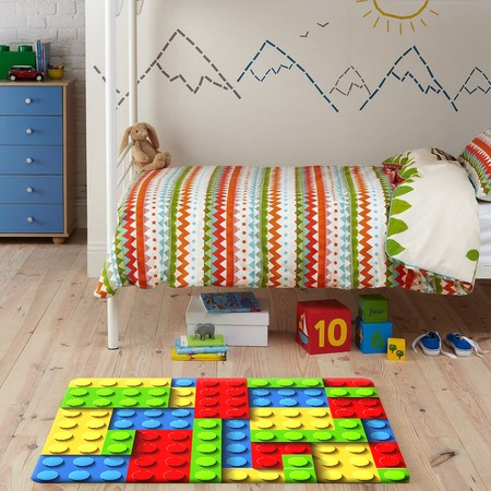 Купить Ковер ТамиТекс Lego 50х70 см