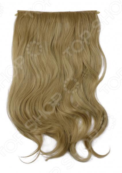 Волосы на силиконовой резинке    /Песочно-русый