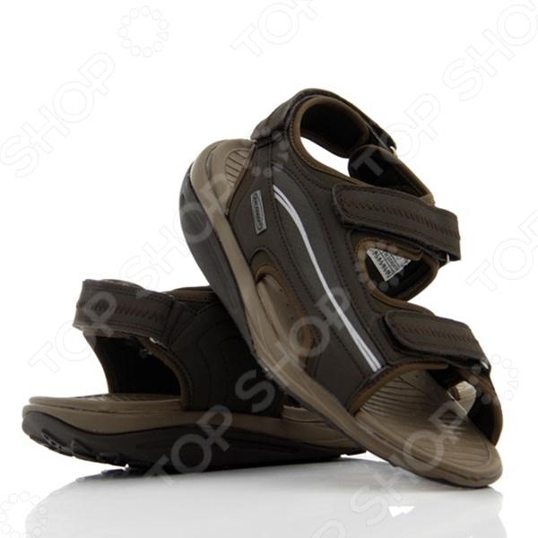 Сандалии становятся все более модной и популярной летней обувью. Разнообразие моделей велико, и мы не всегда знаем, что предпочесть. Сделайте выбор в пользу сандалий Walkmaxx 2.0 и не ошибетесь. Вот причины, по которым сандалии Walkmaxx 2.0 это лучшая летняя обувь:  Ноги проветриваются и не потеют. Настоящее спасение в жаркую погоду! Вы можете ходить в сандалиях по городским улицам, а можете совершать долгие прогулки по горам вашим ногам всегда будет комфортно.  Переобувайтесь за секунды. Три липучки на каждой сандалии позволят вам переобуться мгновенно!  Сохраняйте бодрость весь день. Сандалии Walkmaxx 2.0 помогают выработать правильную походку и оптимально перераспределить вес тела, что сохранит ваши силы во время долгих прогулок.  Прогулки с пользой для здоровья. Оригинальная круглая подошва сделает ходьбу полезной для здоровья и поможет избавиться от нежелательного веса. Вы почувствуете эффект с самого первого шага. В чем уникальные свойства подошвы Walkmaxx Люди привыкли носить обувь с жесткой негнущейся подошвой, хотя для наших ног более естественна и полезна ходьба босиком по мягкой земле и песку. Поэтому оригинальная округлая подошва сандалий Walkmaxx 2.0 имитирует эффект ходьбы по песчаному пляжу. При этом стопа медленно перекатывается вперед и назад, поэтому циркуляция крови улучшается и прорабатываются все мышцы от пяток до кончиков пальцев. Позаботьтесь о своих суставах Благодаря инновационной подошве Walkmaxx вырабатывается правильная походка и корректируется осанка, поскольку держать спину прямо становится проще. Ваши колени и позвоночник освободятся от лишних нагрузок и не будут болеть после долгой ходьбы. Работать будут только мышцы ног и ягодиц, поэтому при регулярных прогулках мышцы они только придут в должный тонус и существенно укрепятся. Теряйте вес без усилий Когда вы идете в обуви с инновационной подошвой Walkmaxx, из-за волнообразного колебания стопы мышцы тела непроизвольно напрягаются, чтобы сохранить равновесие. Поэтому без сознательных ус