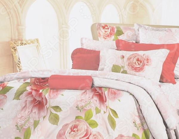 Zakazat.ru: Комплект постельного белья Романтика Lux Cotton «Свежие бутоны». 2-спальный