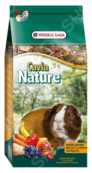 Корм для морских свинок Versele-Laga Nature Cavia смесь аллергенов трав 1 где