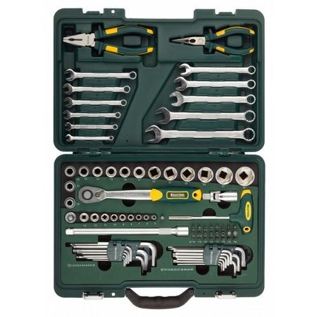 Купить Набор слесарно-монтажного инструмента Kraftool Industry 27977-H84