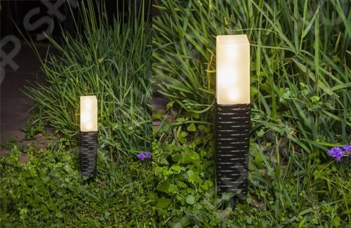 Светильник садовый «Ротанг» Solar Garden Sticks 000293