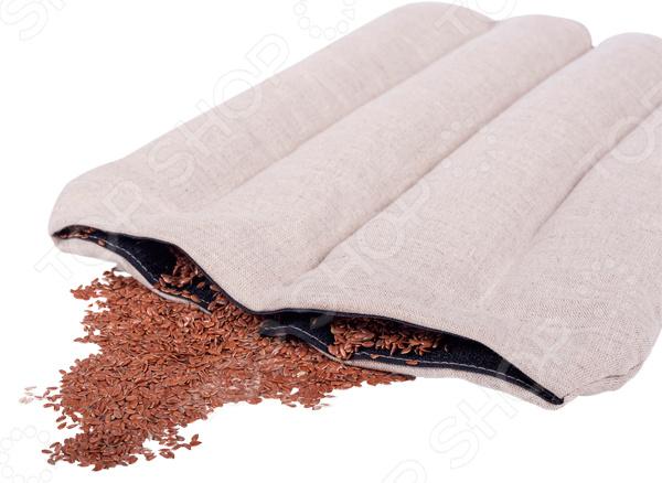 Подушка-грелка Био-Текстиль с семенами льна «Комфорт» Подушка-грелка Био-Текстиль с семенами льна «Комфорт» /