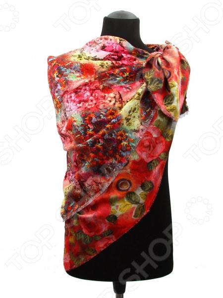 Платок Bona Ventura PL.XL-K.DV.4 недорогой платок на шею для женщин