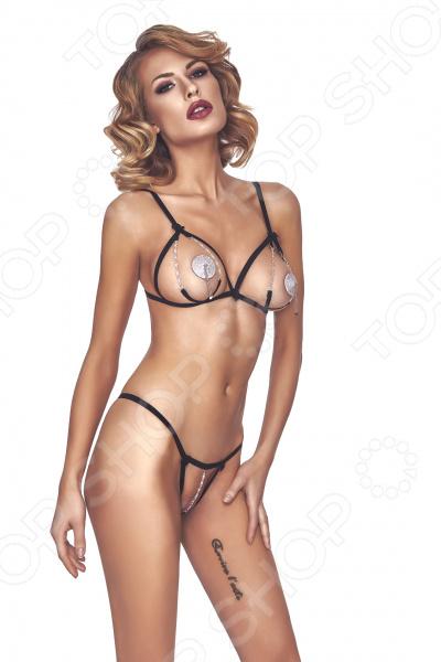 Комплект эротического белья Anais Polyos комплект эротического нижнего белья night fire
