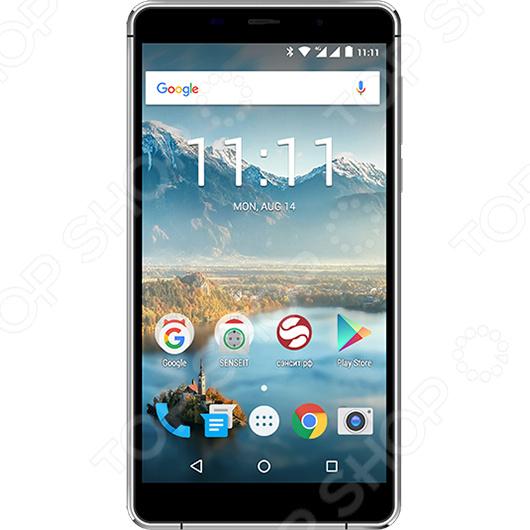 Смартфон SENSEIT T300 16Gb смартфон senseit a200