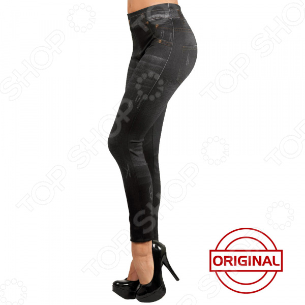 Леджинсы Top Shop Slim Jeggings. Цвет: черный