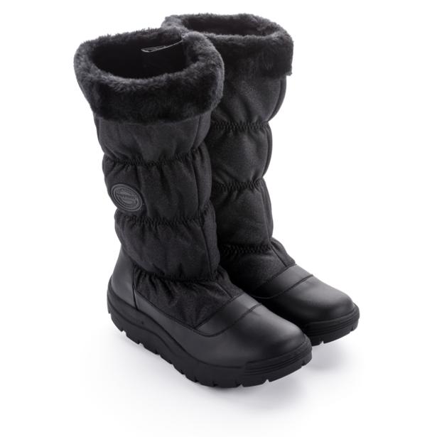 фото Зимние сапоги женские Walkmaxx COMFORT «БЛЕСК» 4.0. Цвет: черный