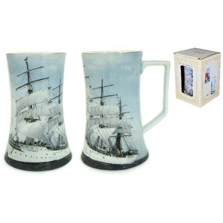Купить Кружка пивная Elan Gallery «Корабль»