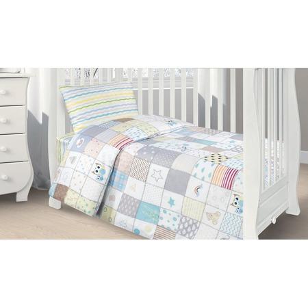 Купить Ясельный комплект постельного белья Ecotex Kids 34