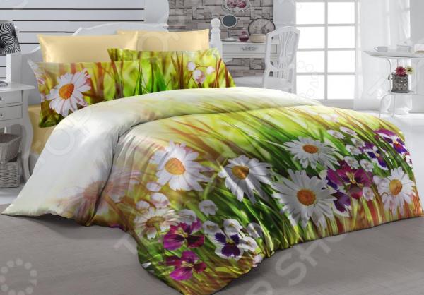 Комплект постельного белья ТамиТекс «Июль». 1,5-спальный