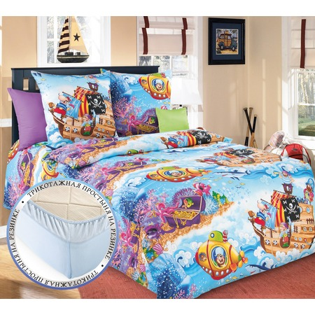 Купить Детский комплект постельного белья ТексДизайн «Пираты»