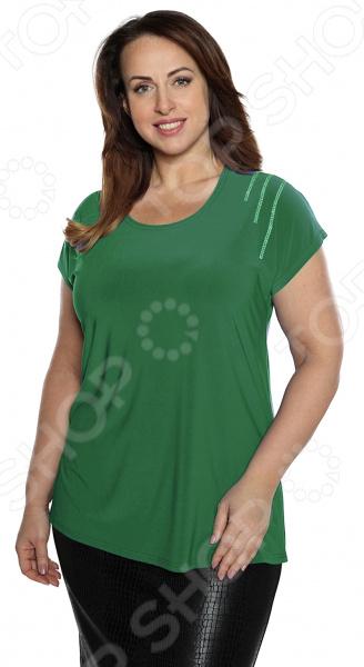 Блуза Pretty Woman «Прекрасный день». Цвет: зеленый блуза pretty woman волшебный взгляд цвет зеленый