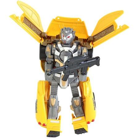 Купить Робот-трансформер Taiko Power Racing «Кибербот» со светозвуковыми эффектами. В ассортименте