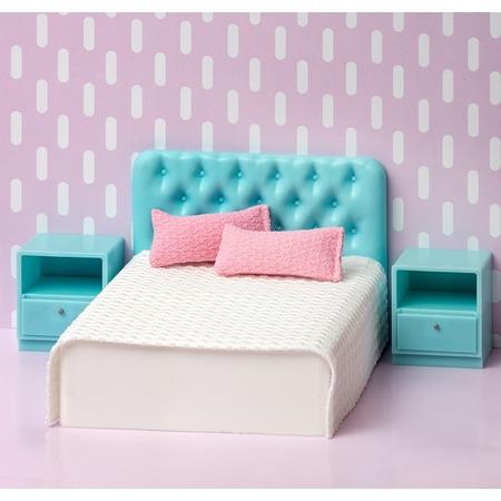 Купить Набор мебели для куклы Lundby «Базовый набор для спальни»