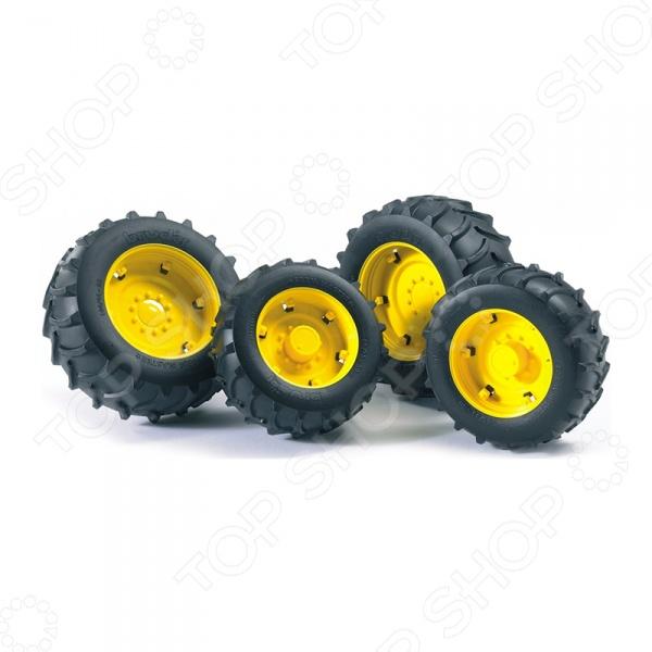 Аксессуары для машинок игрушечных Bruder «Шины для системы сдвоенных колес»