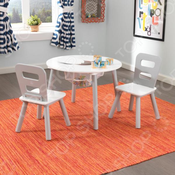 цена на Набор детской мебели: стол и стулья KidKraft «Сердце» 26166_KE