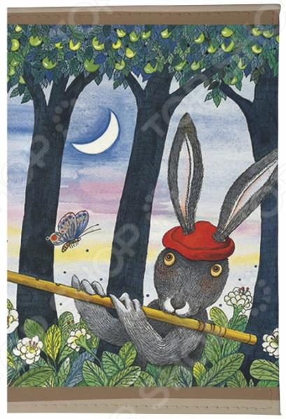 Обложка для паспорта кожаная Mitya Veselkov «Музыка леса»