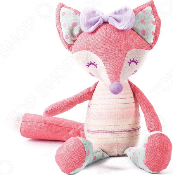 Мягкая игрушка Gulliver «Лисичка Розочка» gulliver мягкая игрушка лисичка розочка 23 см