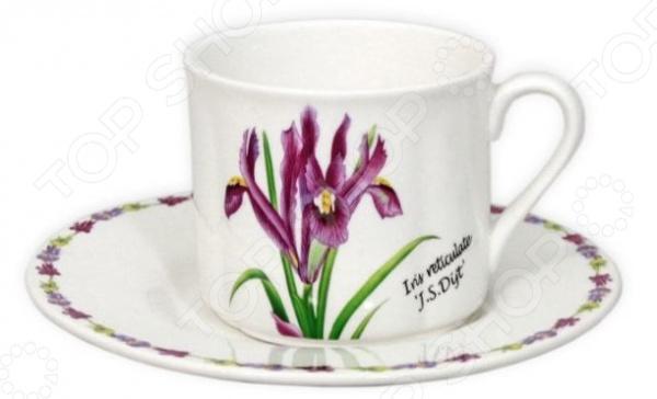 Чайная пара Imari «Ирисы»