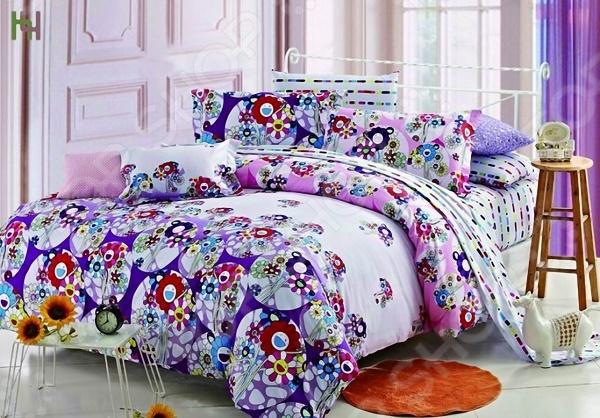 где купить Комплект постельного белья «Флирт». 1,5-спальный по лучшей цене