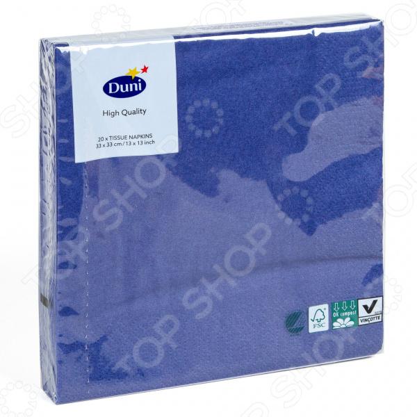 Салфетки бумажные Duni 104052