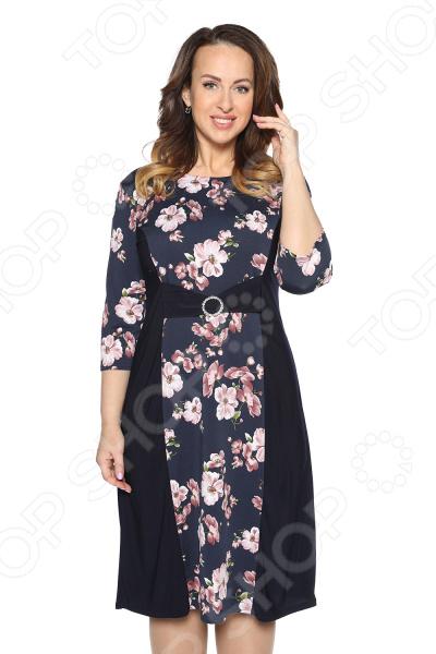 Платье Pretty Woman «Королевский сад». Цвет: бордовый