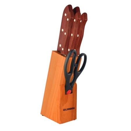 Купить Набор ножей на подставке 7 предметов GB-01126